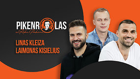 PIKENROLAS: verksniai krepšinyje, Lino Kleizos emocijų protrūkiai ir lietuviai Vasaros lygoje