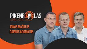 """PIKENROLAS: D.Adomaitis ir J.Mačiulis – atvirai apie """"Žalgirio"""" sudėtį, D-Mo situaciją ir pasiutpolkę Eurolygoje"""
