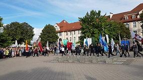 Rugsėjo 1-oji Klaipėdoje: tranki pirmoji pamoka