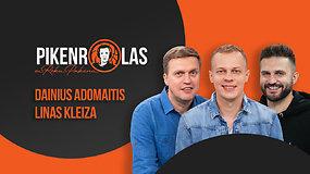 """PIKENROLAS: L.Kleiza ir D.Adomaitis – apie išdarkytą Šaro palikimą """"Žalgiryje"""" ir pavojaus signalus Vilniuje"""