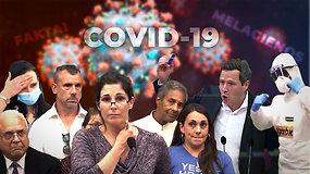 COVID-19 melagienos: daugiausiai interneto vartotojų dėmesio sulaukę netikri faktai