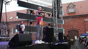"""Vido Bareikio ir 8-mečio Arno pasirodymas festivalyje """"M.A.M.A. vasara"""""""