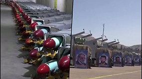Iranas atidarė naują požeminį poligoną – JAV tai laiko grėsme