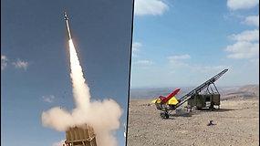 Sunaikino visus taikinius – Izraelis išbandė priešraketinės gynybos sistemą