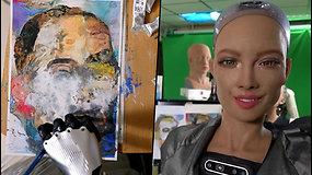Roboto Sofijos meno kūrinys aukcione parduotas beveik už 700 tūkst. dolerių