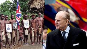 Vanuatų gentis išreiškė užuojautą britų karališkajai šeimai – princą garbino dešimtmečius