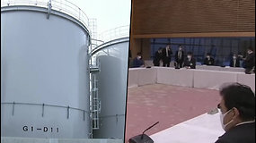 Iš Fukušimos atominės elektrinės į vandenyną bus išleista per milijoną tonų vandens