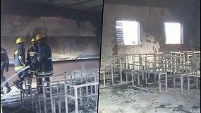 Nigerio sostinėje užsidegė mokykla – liepsnoje žuvo apie 20 vaikų