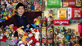 50-metis vyras turi beveik 20 tūkst. žaislų – nuo vaikystės juos rinko ir prižiūrėjo