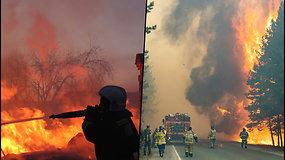 Rusijoje liepsnojamiškai – užgesinti net 138 gaisrai