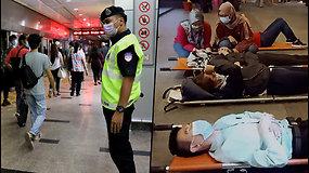 Kraupi avarija Malaizijoje: kaktomuša susidūrė du traukiniai – 47 keleiviai sunkiai sužaloti