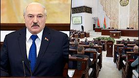 """A.Lukašenka po priverstinio lėktuvo nutupdymo: """"atakos"""" prieš Baltarusiją peržengė """"raudonas linijas"""""""