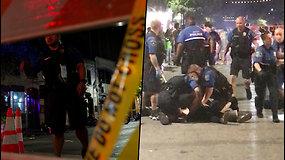 Šaudynės Teksase: sužeista 13 žmonių – mirė jaunas vyras