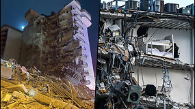 Daugiabutis virto griuvėsiais – sugriuvo, kol gyventojai miegojo