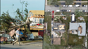 Čikagoje siautėjo tornadas – namus nuniokojo taip smarkiai, kad jie tapo netinkami gyventi