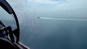 Rusijos karo lėktuvai imitavo atakas prieš olandų laivą – fregata buvo netoli aneksuoto Krymo krantų