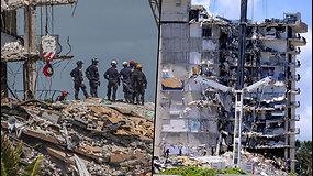 Gyvenamojo pastato dalis sugriuvo prieš daugiau nei 3 dienas – daugiau nei 150 žmonių dar nerasti