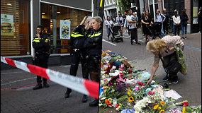 Užpuolimas Amsterdamo centre – į žurnalistą šaudė penkis kartus
