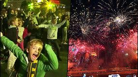 Brisbane bus surengtos 2032 olimpinės žaidynės – pamatykite, kaip apsidžiaugė žmonės