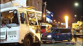 Rusijos mieste driokstelėjo sprogimas autobuse – kol kas neaišku, ar tai teroristinė ataka