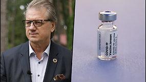 S.Čaplinskas apie vakcinas nuo koronaviruso: žmonės nesupranta, ką jie šneka