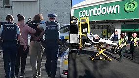 Vyras pačiupo peilį ir užpuolė žmones prekybos centre – policija jį nukovė