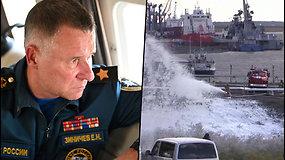 Žuvo Rusijos nepaprastųjų situacijų ministras – gelbėjožmogų
