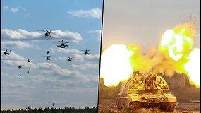 """""""Zapad 2021"""" – Rusijos ir Baltarusijos kariškiai pradeda bendras karines pratybas"""