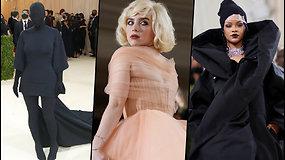 """""""Met Gala"""": raudonas kilimas, žvaigždės ir beprotiškiausios aprangos"""