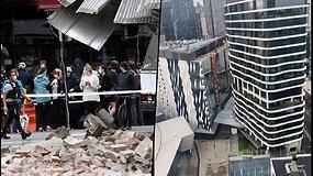 Australijoje nuaidėjo sirenos – itin retas žemės drebėjimas sukėlė paniką gyventojams