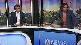 Žemės drebėjimas užklupo Australijos žurnalistus eterio metu – veiduose matėsi nerimas