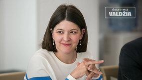 Išbandymas valdžia: finansų ministrė G.Skaistė apie kelius išeiti iš pandemijos ir mokestines lengvatas