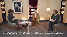 """Pokalbiai prie Vilnelės: praeities interpretacijos šiandienos kultūroje – žurnalo """"Būdas"""" pristatymas"""