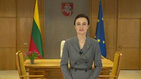 Seimo Pirmininkė sveikina Valstybės atkūrimo dienos proga