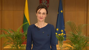 Seimo pirmininkė Viktorija Čmilytė-Nielsen sveikina šv. Velykų proga