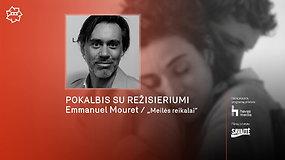 """""""Kino pavasaris"""" 2021: pokalbis su  filmo """"Meilės reikalai"""" režisieriumi Emmanueliu Mouret"""
