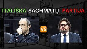 Itališka šachmatų partija: įdomiausio Eurolygos ketvirtfinalio apžvalga