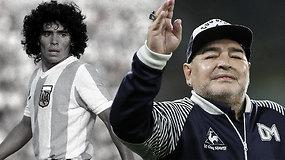 """Prisiminkite legendinio futbolininko Diego Maradonos gyvenimą: """"Pastebėti kamuolį ir jį vytis – tai padaro mane laimingiausiu žmogumi pasaulyje"""""""