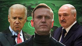 Svarbiausi 2020 m. užsienio įvykiai: nuo koronaviruso atneštų geopolitinių iššūkių iki A.Navalno apnuodijimo