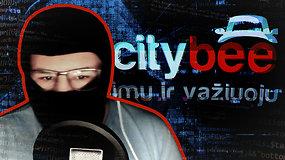"""""""Citybee"""" duomenų vagimi pasiskelbęs programišius prabilo prieš 15min kamerą: bijo būti sučiuptas, kaltina K.Kaikarį melu, bet ar gali pagrįsti savo žodžius?"""
