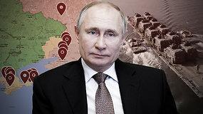 Rusija telkia pajėgas Ukrainos pasienyje: ką tai reiškia?