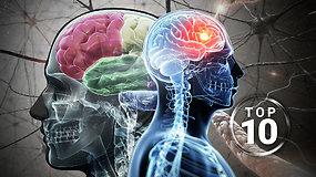Ko nežinome apie savo smegenis? TOP 10 įdomiausių faktų
