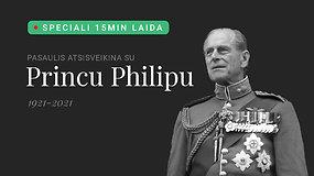 Pasaulis atsisveikina su princu Philipu: tiesioginė laidotuvių transliacija ir speciali laida iš 15min studijos