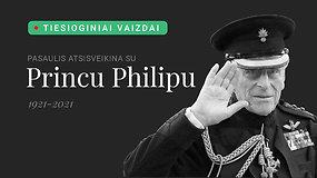 Pasaulis atsisveikina su princu Philipu: tiesioginiai vaizdai iš Vindzoro