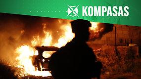 """Kompasas: tarp Izraelio ir """"Hamas"""" prasiveržus smurtui, ES lieka stebėtoja"""