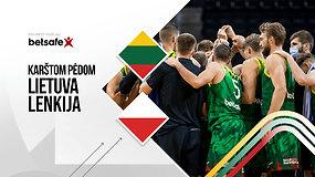 """""""Karštom pėdom"""": Lietuva – Lenkija – karšti žaidėjų komentarai ir rungtynių aptarimas"""