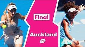 Venus Williams triumfavo turnyre Naujoje Zelandijoje