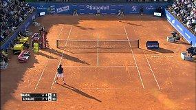 ATP pripažinimas: Ričardo Berankio pergalė prieš Milošą Raoničių įsimintiniausia 2014 sezone