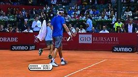 Favoritas pateko į ATP serijos teniso turnyre Argentinos sostinėje ketvirtfinalį