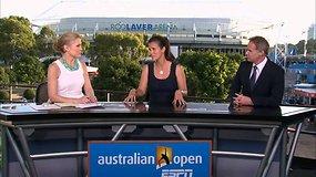 """Australian Open"" vienuoliktos dienos apžvalga"